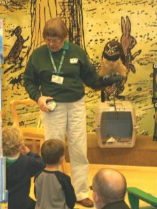 educating kids about owls